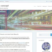 Webseite-tk-concept